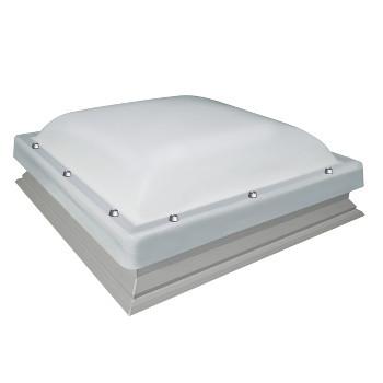 Fen tre coupole pour toit plat dxc m p2 version fixe - Fenetre coupole pour toit plat ...